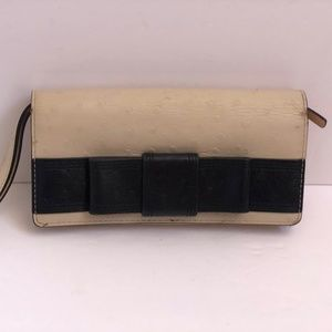 Kate Spade new York Wristlet Wallet Clutch Leather